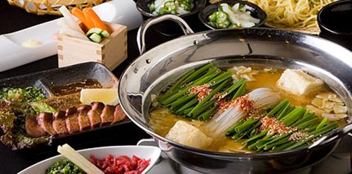 焼肉&もつすき焼きコース