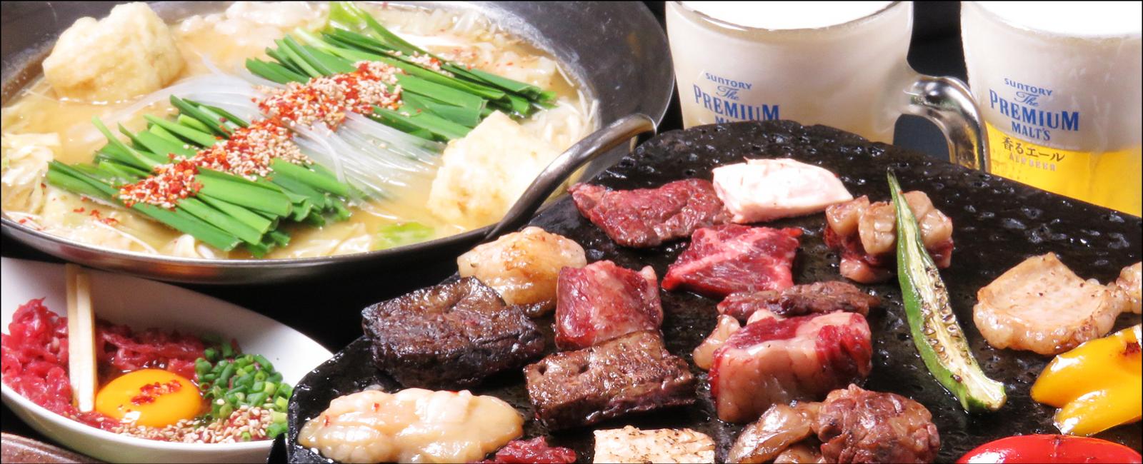 博多・天神のもつ鍋【浜や】福岡で人気のホルモン焼肉ともつ鍋専門店 専門店